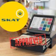 Skal et kasseapparat være godkendt af SKAT?